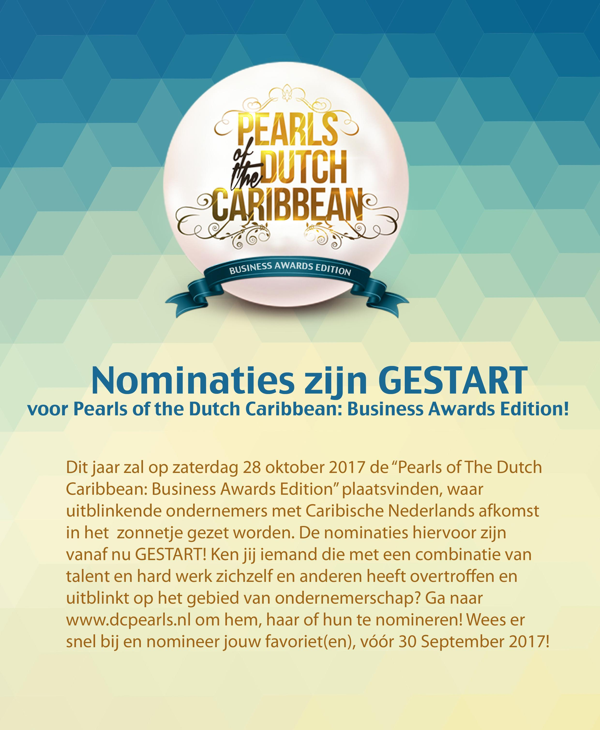 DC Pearls Caribisch Nederlans