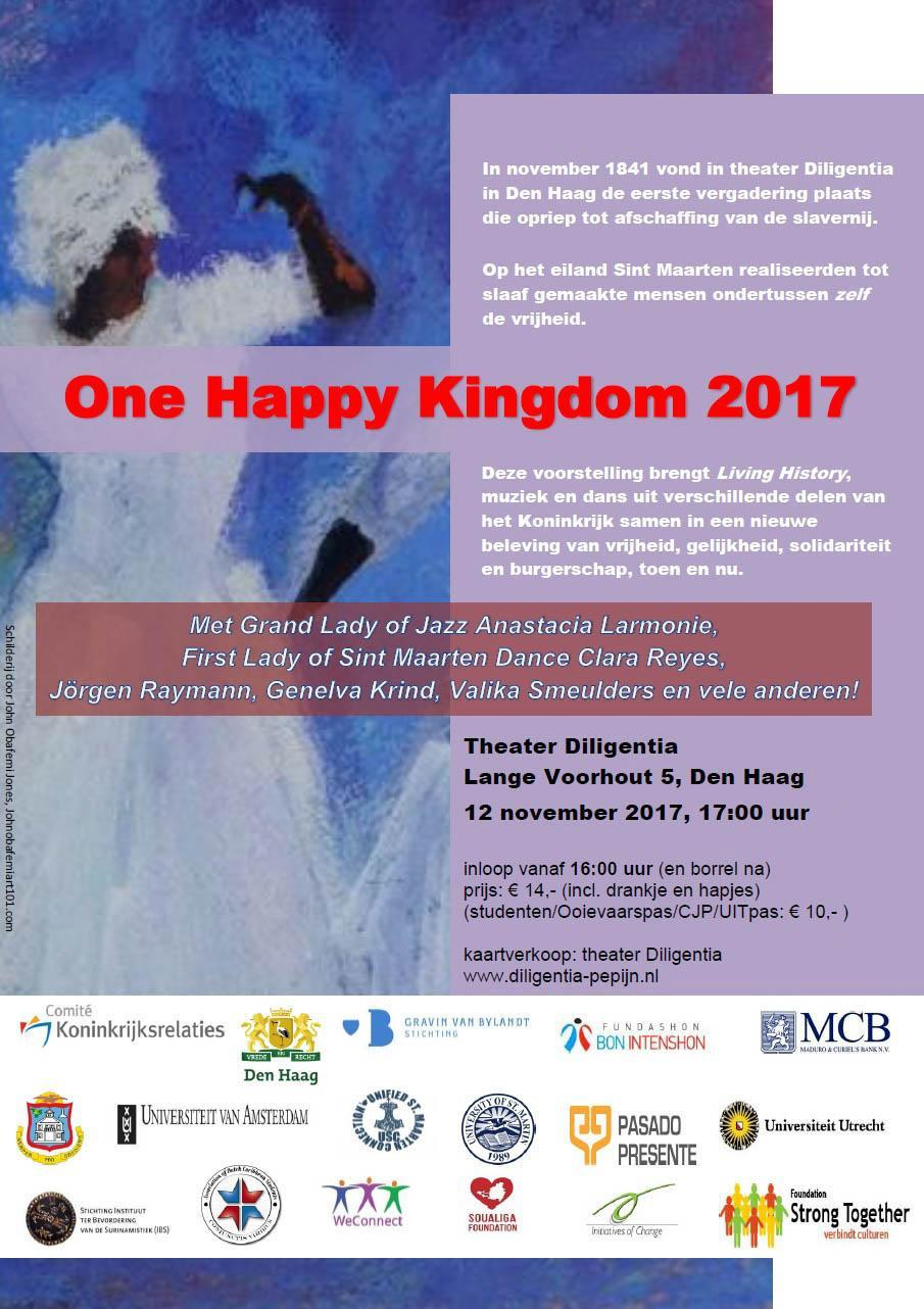 One Happy Kingdom 2017 Pasado Presente Ocan slavernij